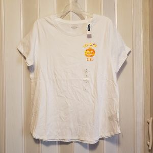*3 FOR 25!*Old Navy White Tee NWT